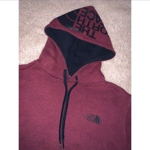 The north face mens hoodie size Medium